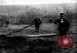 Image of Allies shell advancing German soldiers France, 1918, second 10 stock footage video 65675029659