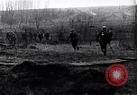 Image of Allies shell advancing German soldiers France, 1918, second 12 stock footage video 65675029659