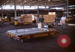Image of pallets of supplies California United States USA, 1967, second 12 stock footage video 65675029669