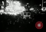 Image of New Year celebrations New York United States USA, 1939, second 8 stock footage video 65675029684