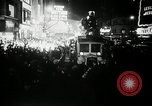 Image of New Year celebrations New York United States USA, 1939, second 9 stock footage video 65675029684
