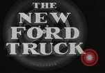 Image of Inner parts of Ford truck are shown in great detail United States USA, 1932, second 12 stock footage video 65675029686