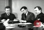 Image of Robert Sherrod interviews New York City USA, 1939, second 1 stock footage video 65675029693
