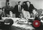 Image of Joseph McCarthy investigates communism New York City USA, 1953, second 2 stock footage video 65675029713