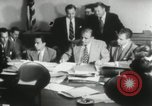Image of Joseph McCarthy investigates communism New York City USA, 1953, second 4 stock footage video 65675029713