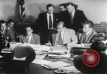 Image of Joseph McCarthy investigates communism New York City USA, 1953, second 5 stock footage video 65675029713