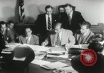Image of Joseph McCarthy investigates communism New York City USA, 1953, second 6 stock footage video 65675029713