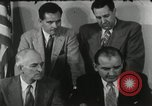 Image of Joseph McCarthy investigates communism New York City USA, 1953, second 10 stock footage video 65675029713