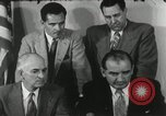 Image of Joseph McCarthy investigates communism New York City USA, 1953, second 11 stock footage video 65675029713