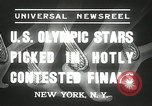 Image of American Olympic qualifying competition 1936 New York United States USA, 1936, second 2 stock footage video 65675029714
