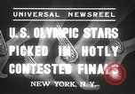 Image of American Olympic qualifying competition 1936 New York United States USA, 1936, second 4 stock footage video 65675029714
