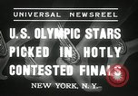 Image of American Olympic qualifying competition 1936 New York United States USA, 1936, second 7 stock footage video 65675029714