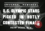 Image of American Olympic qualifying competition 1936 New York United States USA, 1936, second 8 stock footage video 65675029714