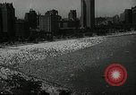 Image of beach Chicago Illinois USA, 1936, second 8 stock footage video 65675029717