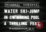 Image of water ski jump Washington DC USA, 1936, second 4 stock footage video 65675029723