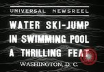 Image of water ski jump Washington DC USA, 1936, second 7 stock footage video 65675029723