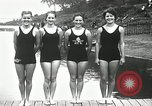 Image of Canada's Olympic swimming team Montreal Quebec Canada, 1936, second 10 stock footage video 65675029725