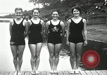 Image of Canada's Olympic swimming team Montreal Quebec Canada, 1936, second 11 stock footage video 65675029725