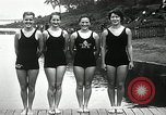 Image of Canada's Olympic swimming team Montreal Quebec Canada, 1936, second 12 stock footage video 65675029725