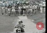 Image of torch marathon race Houston Texas USA, 1977, second 1 stock footage video 65675029727