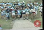 Image of torch marathon race Houston Texas USA, 1977, second 3 stock footage video 65675029727