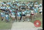 Image of torch marathon race Houston Texas USA, 1977, second 4 stock footage video 65675029727