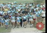 Image of torch marathon race Houston Texas USA, 1977, second 5 stock footage video 65675029727