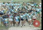 Image of torch marathon race Houston Texas USA, 1977, second 6 stock footage video 65675029727