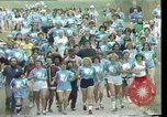 Image of torch marathon race Houston Texas USA, 1977, second 7 stock footage video 65675029727