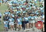 Image of torch marathon race Houston Texas USA, 1977, second 9 stock footage video 65675029727