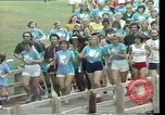 Image of torch marathon race Houston Texas USA, 1977, second 11 stock footage video 65675029727