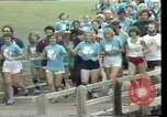 Image of torch marathon race Houston Texas USA, 1977, second 12 stock footage video 65675029727