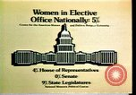 Image of American women's statistics United States USA, 1977, second 5 stock footage video 65675029728
