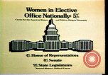 Image of American women's statistics United States USA, 1977, second 7 stock footage video 65675029728