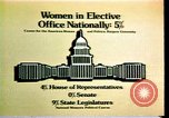 Image of American women's statistics United States USA, 1977, second 9 stock footage video 65675029728