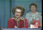 Image of Lady Bird Johnson Houston Texas USA, 1977, second 1 stock footage video 65675029732
