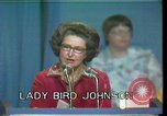 Image of Lady Bird Johnson Houston Texas USA, 1977, second 5 stock footage video 65675029732