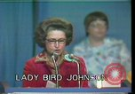 Image of Lady Bird Johnson Houston Texas USA, 1977, second 6 stock footage video 65675029732