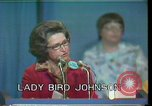 Image of Lady Bird Johnson Houston Texas USA, 1977, second 7 stock footage video 65675029732