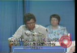 Image of Barbara Jordan Houston Texas USA, 1977, second 5 stock footage video 65675029733