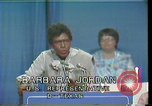 Image of Barbara Jordan Houston Texas USA, 1977, second 6 stock footage video 65675029733