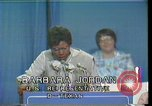 Image of Barbara Jordan Houston Texas USA, 1977, second 9 stock footage video 65675029733