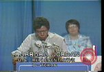 Image of Barbara Jordan Houston Texas USA, 1977, second 10 stock footage video 65675029733