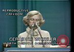 Image of Reproductive Freedom Houston Texas USA, 1977, second 4 stock footage video 65675029739