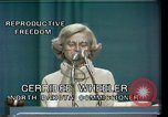 Image of Reproductive Freedom Houston Texas USA, 1977, second 7 stock footage video 65675029739