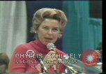 Image of Phyllis Schlafly speaks against ERA and same sex marriage Texas United States USA, 1977, second 9 stock footage video 65675029746