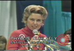 Image of Phyllis Schlafly speaks against ERA and same sex marriage Texas United States USA, 1977, second 10 stock footage video 65675029746