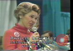 Image of Phyllis Schlafly speaks against ERA and same sex marriage Texas United States USA, 1977, second 11 stock footage video 65675029746
