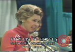 Image of Phyllis Schlafly speaks against ERA and same sex marriage Texas United States USA, 1977, second 12 stock footage video 65675029746
