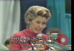 Image of Phyllis Schlafly Texas United States, 1977, second 14 stock footage video 65675029746